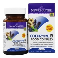 Image of New Chapter - Organics Coenzyme B Food Complex - 30 Tablets