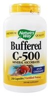 Nature's Way - Buffered C-500 - 250 Capsules (033674403211)