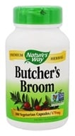Nature's Way - Butcher's Broom Root - 100 Capsules (033674112502)