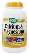 Nature's Way - Calcium & Magnesium - 250 Capsules (033674413111)