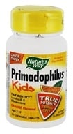 Nature's Way - Primadophilus Kids Orange - 30 Chewable Tablets, from category: Nutritional Supplements