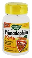 Nature's Way - Primadophilus Kids Orange - 30 Chewable Tablets - $4.61