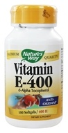Nature's Way - Vitamin E-400 - 100 Softgels, from category: Vitamins & Minerals