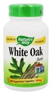 Nature's Way - White Oak Bark 480 mg. - 100 Vegetarian Capsules