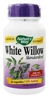 Nature's Way - White Willow Bark Standardized Extract - 60 Capsules