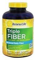 ReNew Life - Organic Triple Fiber - 150 Vegetarian Capsules, from category: Nutritional Supplements