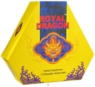 Royal Dragon - The Super Sexual Herbal Ball 3000 mg. - 3 Chewable Tablets by Royal Dragon