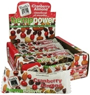 Ruth's Hemp Foods - Hemp Power Bar Cranberry Almond Flavor - 1.5 oz.