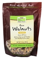 Image of NOW Foods - Walnuts, Halves & Pieces, Raw - 12 oz.