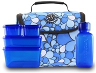 Image of New Wave Enviro Products - Lunchopolis Litter Free Lunch Box with Food Containers Blue