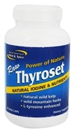 North American Herb & Spice - Thyroset - 90 Capsules, from category: Nutritional Supplements
