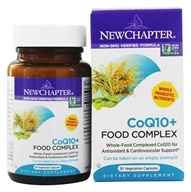 Image of New Chapter - CoQ10+ Food Complex - 30 Vegetarian Capsules