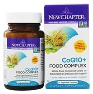 New Chapter - CoQ10+ Food Complex - 30 Vegetarian Capsules - $26.97