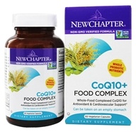 New Chapter - Organics CoQ10+ Food Complex - 60 Vegetarian Capsules, from category: Nutritional Supplements