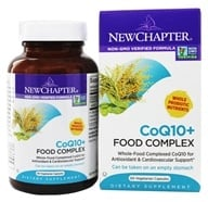 Image of New Chapter - Organics CoQ10+ Food Complex - 60 Vegetarian Capsules