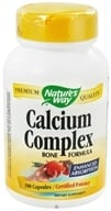 Nature's Way - Calcium Complex Bone Formula - 100 Capsules CLEARANCED PRICED, from category: Vitamins & Minerals