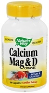 Nature's Way - Calcium, Magnesium, & Vitamin D - 100 Capsules (033674414200)