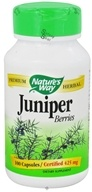 Nature's Way - Juniper Berries 425 mg. - 100 Capsules (033674144008)