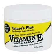 Nature's Plus - Vitamin E Cream - 2.2 oz.
