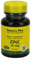 Image of Nature's Plus - Zinc 10 mg. - 90 Tablets
