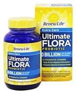 Renew Life - Ultimate Flora Extra Care Probiotic 50 Billion CFU - 30 Vegetarian Capsules Formerly Critical Care
