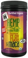 Ruth's Hemp Foods - Hemp Protein Powder with Sprouted Flax and Maca - 16 oz.