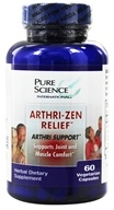 RZN Nutraceuticals - Arthri Zen Relief - 60 Vegetarian Capsules, from category: Herbs