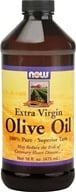 NOW Foods - Olive Oil Extra Virgin - 16 oz.