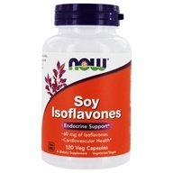 NOW Foods - Soy Isoflavones Non-GE 60 mg. - 120 Vegetarian Capsules, from category: Nutritional Supplements