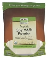 NOW Foods - Instant Soy Milk Powder - 20 oz. (733739058379)