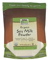 NOW Foods - Instant Soy Milk Powder - 20 oz.