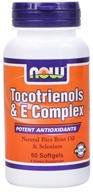 NOW Foods - Tocotrienols & E Complex - 60 Softgels