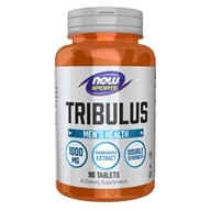 NOW Foods - Tribulus 1000 mg. - 90 Tablets - $11.54