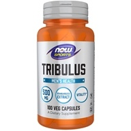 NOW Foods - Tribulus 500 mg. - 100 Capsules, from category: Sports Nutrition