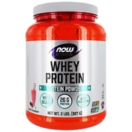 NOW Foods - Whey Protein Strawberry - 2 lbs.