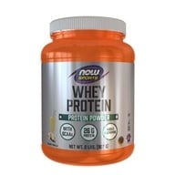 NOW Foods - Whey Protein with Glutamine Vanilla - 2 lbs. (733739021854)