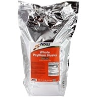 NOW Foods - Whole Psyllium Husk Mega Pack - 10 lbs. (733739059864)