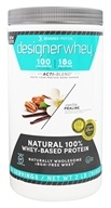 Designer Protein - Designer Whey 100% Premium Whey Protein Powder Vanilla Praline - 2 lbs., from category: Sports Nutrition