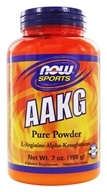 NOW Foods - AAKG Powder 100% Pure Unflavored - 7 oz. by NOW Foods