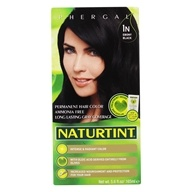 Naturtint - Permanent Hair Colors (1N) Ebony Black - 4.5 oz. by Naturtint