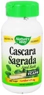 Image of Nature's Way - Cascara Sagrada Bark - 100 Vegetarian Capsules