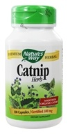 Nature's Way - Catnip Herb 380 mg. - 100 Capsules (033674114001)