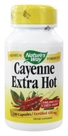 Nature's Way - Cayenne Extra Hot 450 mg. - 100 Capsules by Nature's Way