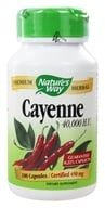 Nature's Way - Cayenne Pepper 450 mg. - 100 Capsules (033674115008)