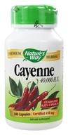 Nature's Way - Cayenne Pepper 450 mg. - 100 Capsules - $5.35