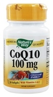 Nature's Way - CoQ10 100 mg. - 30 Softgels by Nature's Way