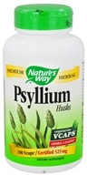 Nature's Way - Psyllium Husks 525 mg. - 180 Vegetarian Capsules