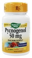 Image of Nature's Way - Pycnogenol 50 mg. - 30 Tablets