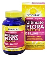 Image of ReNew Life - Ultimate Flora Vaginal Support 50 Billion - 30 Capsules