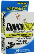 Requa - Charcoal Capsules - 36 Capsules CLEARANCED PRICED - $5.63